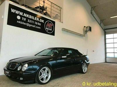 brugt Mercedes CLK200 2,0 Komp. Cabriolet Elegance