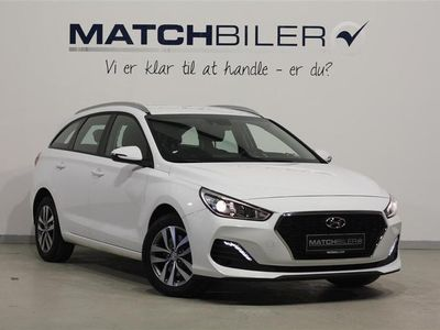 brugt Hyundai i30 Cw 1,4 T-GDI Nordic Edition + DCT 140HK Stc 7g Aut.
