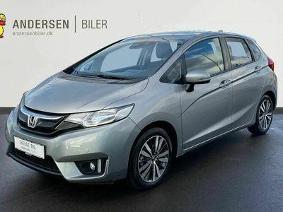 brugt Honda Jazz 1,3 Elegance Navi & ADAS CVT 102HK 5d Trinl. Gear