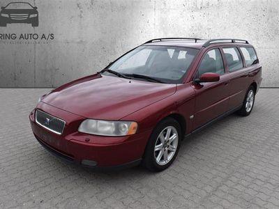 brugt Volvo V70 2,4 140HK Stc - Personbil - rødmetal
