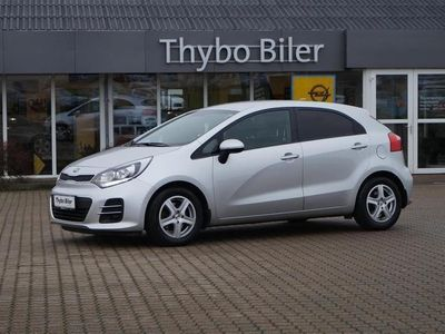 brugt Kia Rio 1,4 CRDI Attraction Plus 90HK 5d 6g