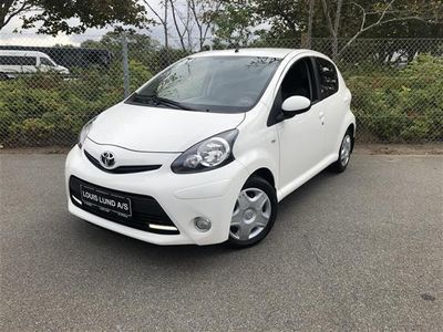 brugt Toyota Aygo 1,0 VVT-I T2 Air Connect 68HK 5d
