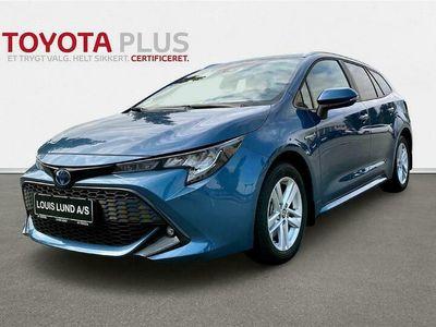 brugt Toyota Corolla Touring Sports 2,0 Hybrid H3 Smart E-CVT 184HK Stc 6g Aut. A++