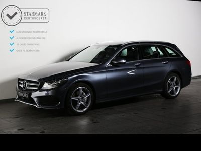 brugt Mercedes C200 2,0 AMG Line st.car