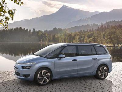 brugt Citroën Grand C4 Picasso 2,0 Blue HDi Intensive EAT6 start/stop 150HK 6g Aut. - Personbil - lysblåmetal - 7 pers.