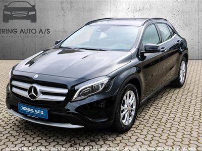 brugt Mercedes GLA200 2,1 CDI 136HK 5d 6g - Personbil - sort