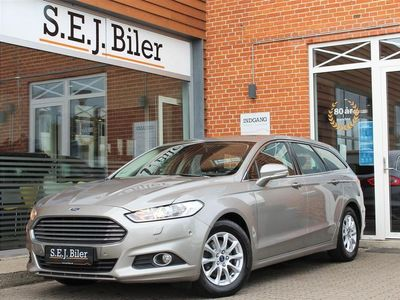 brugt Ford Mondeo 2,0 TDCi ECOnetic Trend 150HK Stc 6g A+