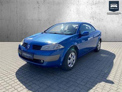 brugt Renault Mégane Cabriolet 1,6 16V Dynamique 115HK - Personbil - Blå
