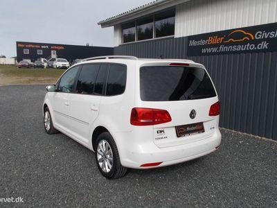 brugt VW Touran 2,0 TDI Highline DSG 177HK 6g Aut.