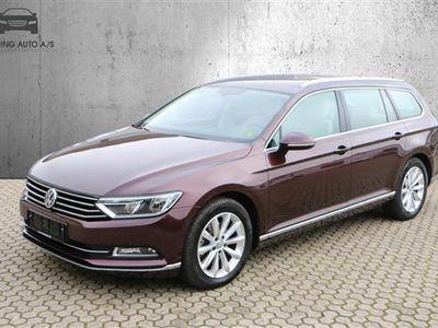 brugt VW Passat Variant 1,4 TSI BMT ACT Highline Plus DSG 150HK Stc 7g Aut. - Personbil - Bordeauxmetal