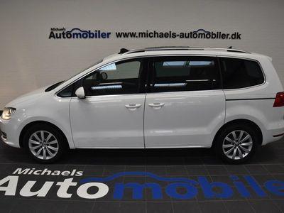 brugt VW Sharan 2,0 TDi 140 Highline BMT