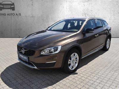 brugt Volvo V60 CC 2,0 D3 Plus 150HK Stc 6g - Personbil - Brunmetal