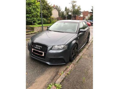 brugt Audi A3 Sportback 2,0 S-Line