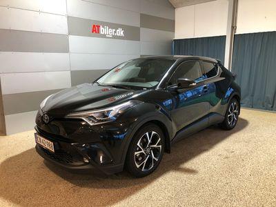 brugt Toyota C-HR 1,8 B/EL C-LUB Premium Selected Alcanta Multidrive S 122HK 5d Aut. A+++