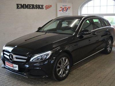 used Mercedes C220 d 2,2 stc. aut.