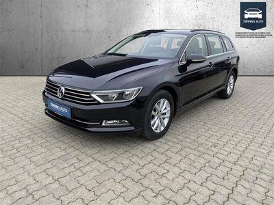 brugt VW Passat Variant 2,0 TDI BMT Comfortline Plus DSG 150HK Stc 6g Aut. - Personbil - Sortmetal