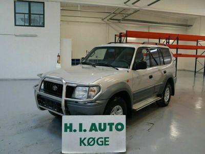 brugt Toyota Land Cruiser 3,0 TD 4x4