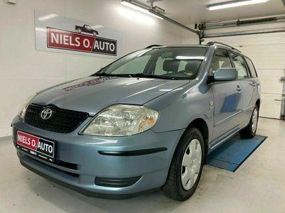 brugt Toyota Corolla 1,6 VVT-i Terra stc.