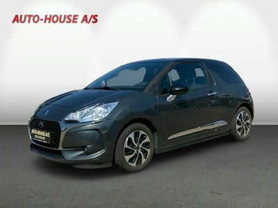 brugt DS Automobiles DS3 1,6 BlueHDi 100 Style Spring