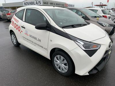 brugt Toyota Aygo 1,0 VVT-I X 72HK 3d A+++
