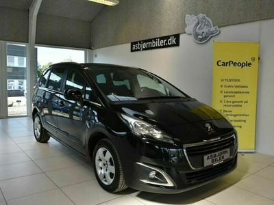 brugt Peugeot 5008 1,2 e-THP 130 Style 7prs