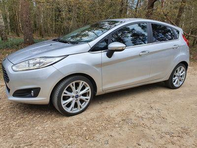 brugt Ford Fiesta 1.0 Titanium X Ecoboost (125 HK), 5 dørs Forhjulstræk Manuel