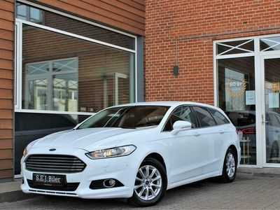 brugt Ford Mondeo 2,0 TDCi ECOnetic Business 150HK Stc 6g A+