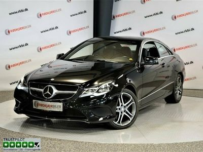 brugt Mercedes E350 0 BlueTEC Coupé aut.