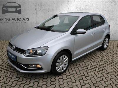 brugt VW Polo 1,4 TDI BMT Comfortline 90HK 5d - Varebil - sølvmetal