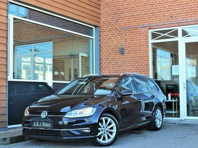 brugt VW Golf Variant 2,0 TDI BMT Highline DSG 150HK Stc 7g Aut. A