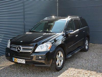 brugt Mercedes GL450 4,7 4-Matic 340HK Van 7g Aut.