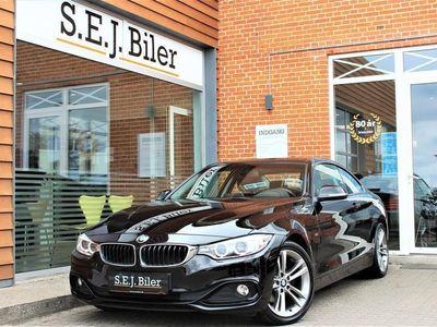 brugt BMW 420 d 2,0 D Sportline 184HK 2d 8g Aut. A