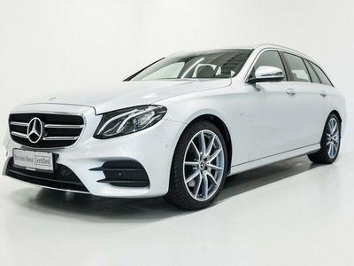 brugt Mercedes E220 2,0 AMG Line Sportsstyle stc. aut.