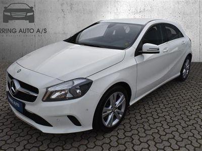 brugt Mercedes A200 1,6 7G-DCT 156HK 5d 7g Aut. - Personbil - hvid