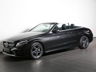 brugt Mercedes C200 1,5 AMG Line Cabriolet aut.
