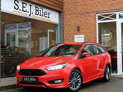 brugt Ford Focus 1,5 TDCi ST-Line stc. 120HK aut 5d