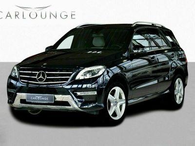 brugt Mercedes ML350 ML3503,0 BlueTEC aut. 4-M 5d 3,0 BlueTEC aut. 4-M 5d