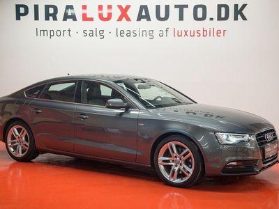 brugt Audi A5 Sportback 3,0 TDi 204 S-line Multitr.