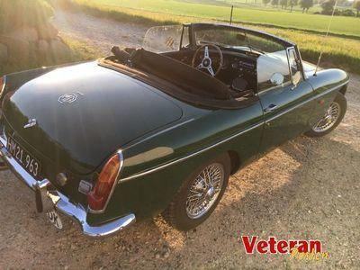 brugt MG B 1,8 British Racing Green