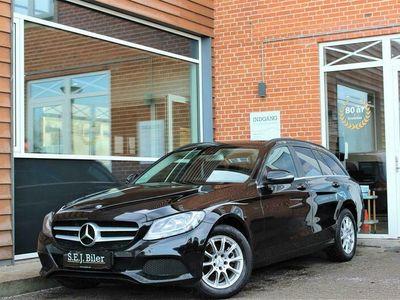 brugt Mercedes C220 d T 2,1 Bluetec Business 170HK Stc 6g A+