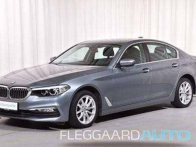 brugt BMW 520 d 2,0 D Steptronic 190HK 8g Aut.