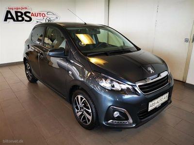 brugt Peugeot 108 1,0 e-Vti Edition Plus 69HK 5d