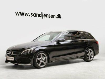 gebraucht Mercedes C220 d 2,2 AMG Line stc. aut.