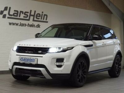 brugt Land Rover Range Rover evoque SD4 Dynamic aut.