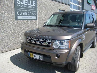 brugt Land Rover Discovery 3,0 TDV6 HSE 4x4 245HK Van 6g Aut.