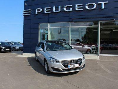 brugt Peugeot 508 1,6 BlueHDi 120 Desire EAT6 sw