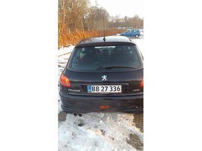 brugt Peugeot 206 1,6 1.6 S-line 110 hk