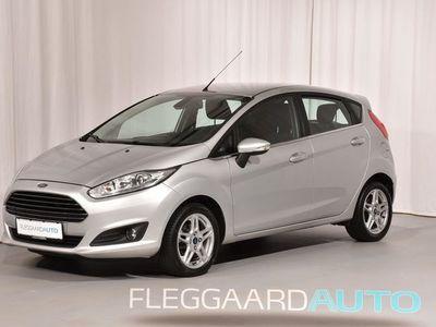 brugt Ford Fiesta 1,6 TDCI Titanium 95HK 5d