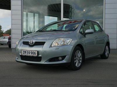 brugt Toyota Auris 1,6 VVT-I Linea Luna Plus 124HK 5d