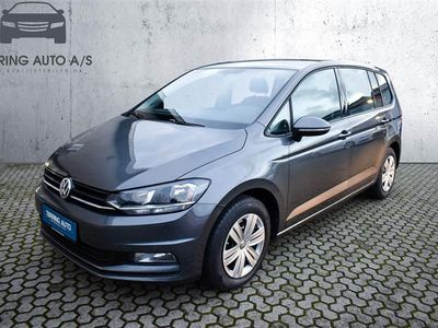 brugt VW Touran 1,2 TSI BMT Trendline 110HK 6g - Personbil - koksmetal - 7 pers.